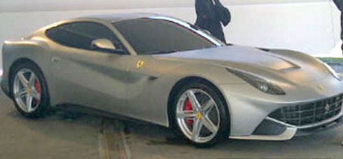 New Ferrari F620 GT F620GT Silver Gray Grey V12