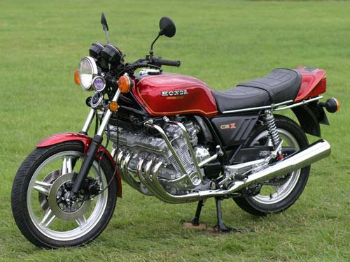 Honda CBX CBX1000 Red