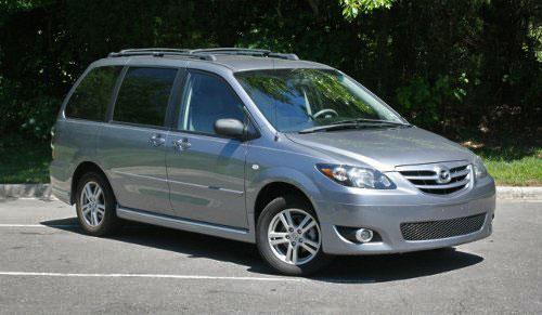 Mazda MPV 05 2005 LX Grey Gray Gunmetal