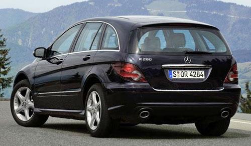 Mercedes Merc Benz R-Class RClass V251 Black