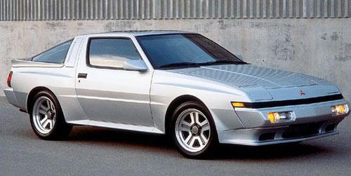 Mitsubishi Mitsu Starion Chrysler Dodge Plymouth Conquest Silver Gray Grey Wide Body Widebody