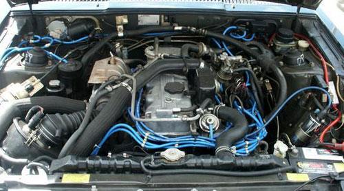 Mitsubishi Mitsu Starion Chrysler Dodge Plymouth Conquest Engine Motor Bay 4G54