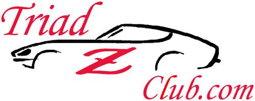 Triad Z Club Logo Datsun Nissan 240Z 260Z 280Z 280ZX 300ZX 350Z 370Z