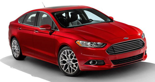 2013 13 Ford Fusion Red