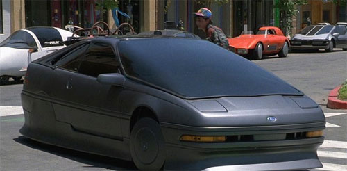Back to the Future II Part 2 Movie Ford Probe Car Grey Gray
