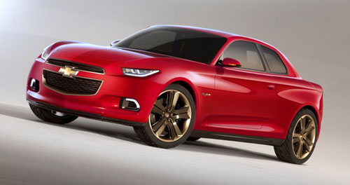 Chevy Chevrolet Code 130R Red
