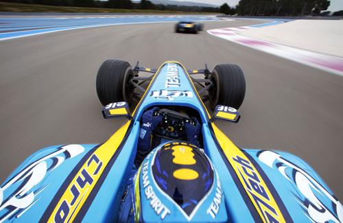 F1 Formula 1 Onboard On Board In Car Cockpit Driver Renault
