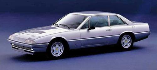 Ferrari 400 400i 412 GT 2+2 Silver