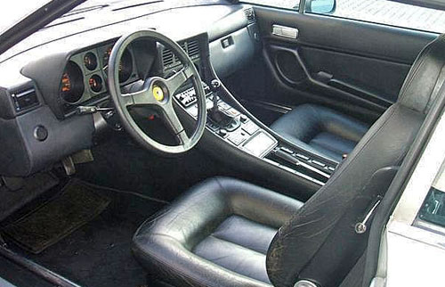 Ferrari 400 400i 412 GT 2+2 Interior Inside Cockpit Console Dashboard Dash Seats
