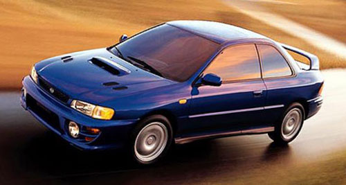 Subaru Impreza 2.5RS Blue