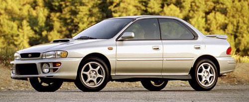 Subaru Impreza 4 Four Door Silver