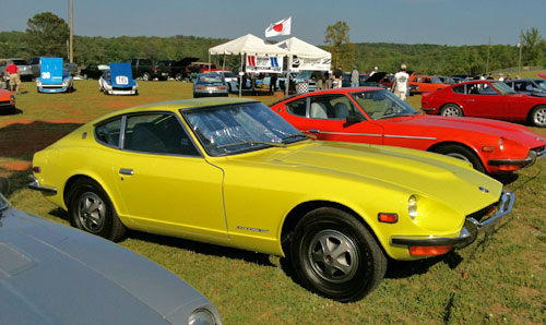 Triad Z Club Lineup Datsun Nissan 240Z 260Z 280Z Greensboro Winston Salem High Point
