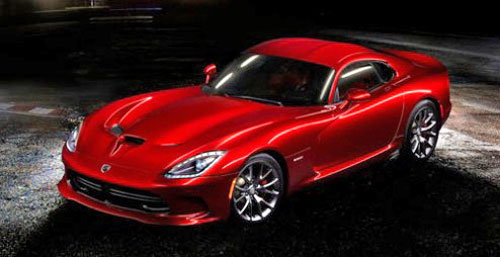 2013 SRT Viper Dodge Red New