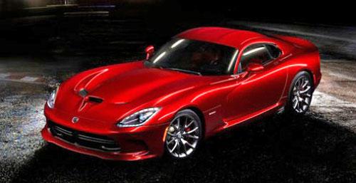 2013 SRT Viper Dodge Red New