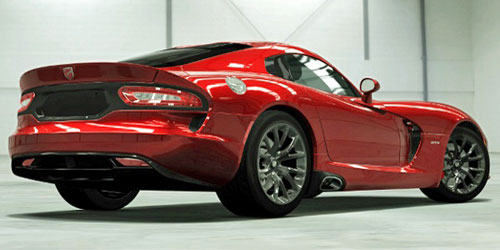 2013 SRT Viper Dodge Red New Rear Back Taillights