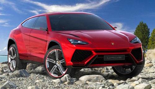 Lamborghini Urus Lambo Red SUV