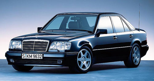 Mercedes Benz 500E E500 W124 Hammer AMG Black Gray Grey Gunmetal