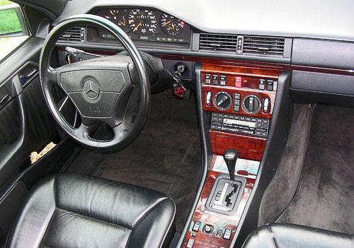 Mercedes Benz 500E E500 W124 Hammer AMG Interior Inside Cockpit Console Dash Dashboard