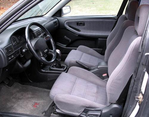 Nissan Sentra SE-R SER Interior Inside Cockpit Console Seats