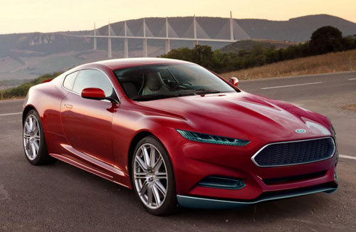 2015 Next Generation Gen Ford Mustang Concept Red