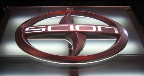 Scion Logo Trade Show Display