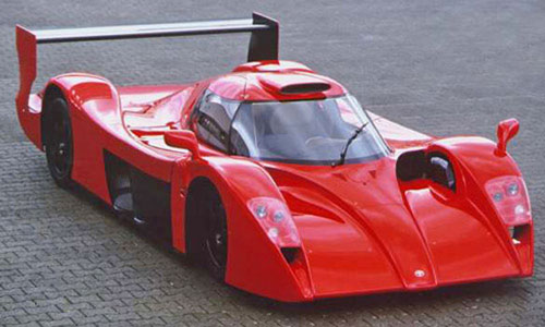 Toyota GT-One GT1 Red Le Mans Racer Race Car
