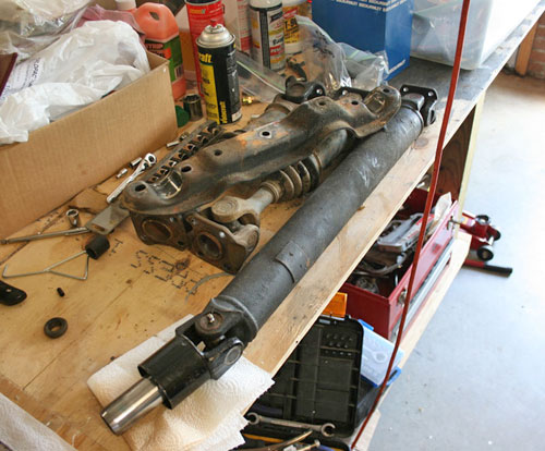 Datsun 240Z Restoration Driveshaft Axle Shafts Halfshafts Diff Differential Subframe