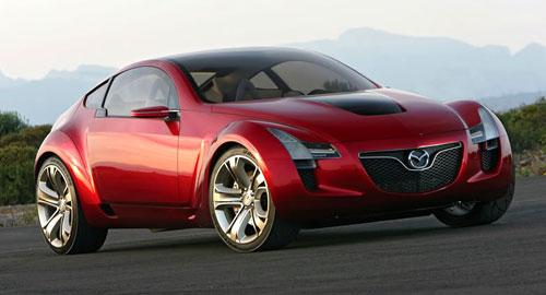 Mazda RX-9 Concept Red