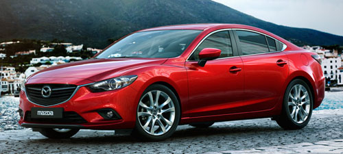 2014 New Mazda 6 Six Red