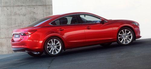 2014 New Mazda 6 Six Red