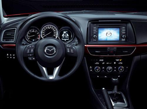 2014 New Mazda 6 Six Interior Inside Cockpit Console Dash Dashboard