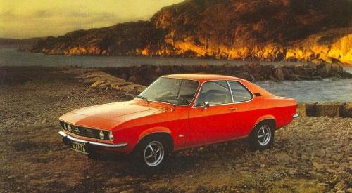 Opel Manta A Red