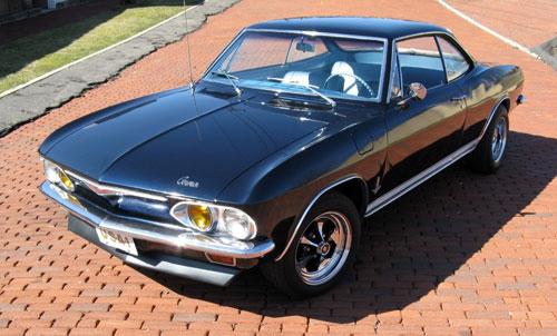 1965 Chevy Chevrolet Corvair Black