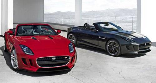 Jaguar F-Type FType Convertible Cabriolet Cabrio Droptop Ragtop