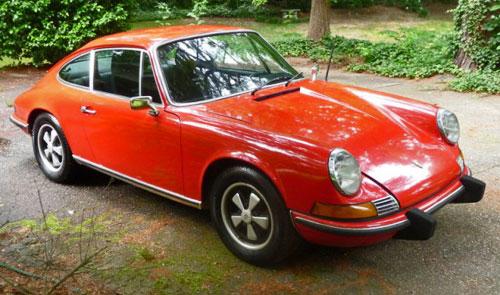 1973 Porsche 911 911T Classic Red