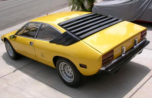 Lamborghini Lambo Urraco Uracco Urracco Yellow