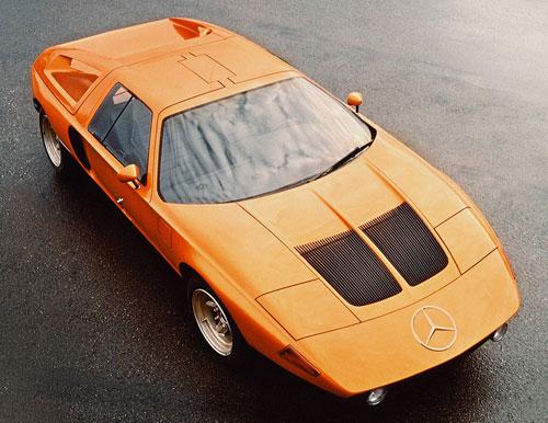 Mercedes C111 Orange