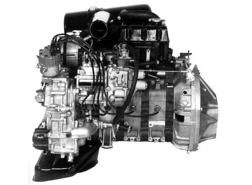 Mercedes C111 Wankel Rotary Engine Motor 4-Rotor