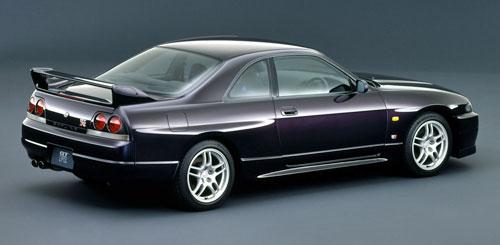 Nissan R33 Skyline GT-R GTR Purple Violet