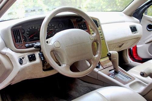Subaru Alcyone SVX Interior Inside Cockpit Console Dash Dashboard