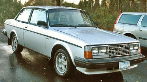 1983 83 Volvo 242 200 Coupe Group A Turbo Flathood Flat Hood Silver