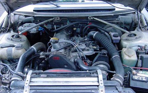 1983 83 Volvo 242 200 Coupe Group A Turbo Flathood Flat Hood Engine Motor B21FT