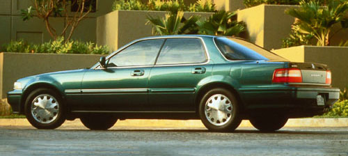 Acura Honda Vigor Green Turquoise Rear Back