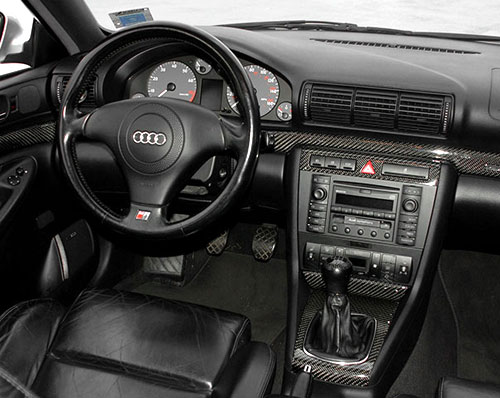 Audi B5 A4 Steering Wheel Interior Inside Console Cockpit Dash Dashboard Design Styling