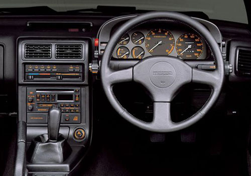 FC Mazda RX-7 RX7 Gauges Instrument Cluster Interior Inside Console Cockpit Dash Dashboard Design Styling