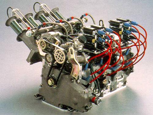 Mazda R26B 4 Four Rotor Engine Motor Le Mans Win 787B