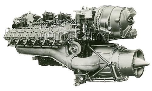 Napier Nomad 1 Aero Engine Motor