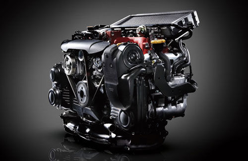 Turbo Turbocharged Subaru Engine Motor EJ20 WRX STI