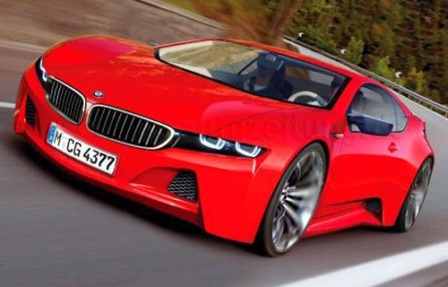 Bmw M8 Supercar Concept Rendering Ilration