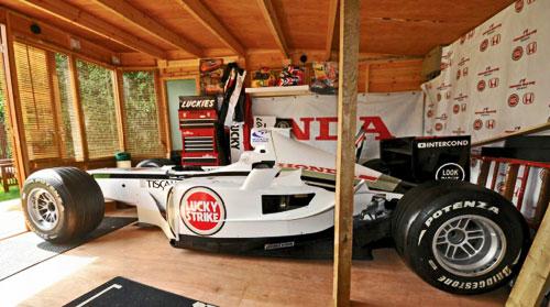 Kevin Thomas Homebuilt F1 Formula 1 One Car BAR Lucky Strike Honda 2001